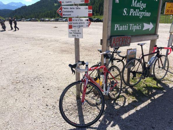 La Bestia Rossa al Passo San Pellegrino